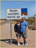Route 66 to Oatman
