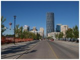 View from Confluence Way and 6 Ave. SE