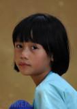 Kelabit girl at Pa' Umor