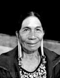 Long-ear-lobed Woman