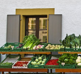 The Greengrocer's window...