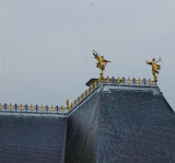 A detail of the Parlement de Bretagne roof....