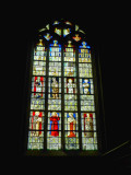 Old stained glass windows have always a deep charm...