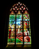 I have a special liking for ancient stained glass windows...