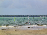 It was not high tide yet ...