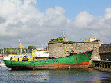 We have still time to give a look at the floating museum of fishing...