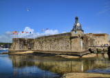 And we left Concarneau...