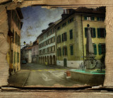 The houses of that street...