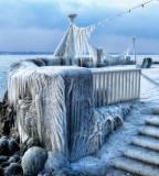 Stairway to the Ice Queen's terrace...