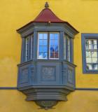 One of my favourite oriel windows...