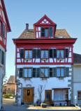 Half-timbered small houses…