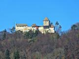 Look up, look up…the castle of  Hohenklingen!
