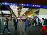 Zürich railways station, a very busy one…