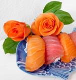 Sushi rose...