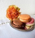 Macarons for a sophisticated carnation...