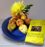 Some flowers like detective stories and  arancini...