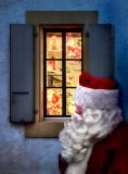 The secret of his  window