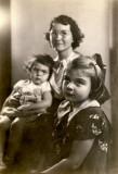 Janet, Grandma and Mom, c. 1937