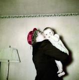 Lillian and Grandchild, 1952