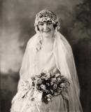 Grandma's Bridal Photo c. 1928