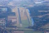 Vliegveld Weelde met achteraan Weelde Geeneind