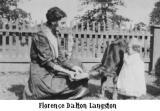 Aunt Florence Dalton Langston