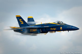 U.S. Navy Blue Angels Sneak Pass