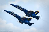 Blue Angels Section High Alpha Pass