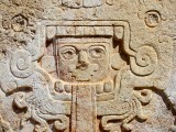 Bas relief  , Chichen Itza , Yucatan
