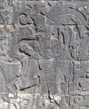 Bas-relief à Chichen Itza