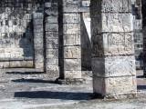 colonnes du temple des guerriers