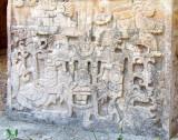 bas-relief du temple des jaguars