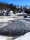 la Rivière-du loup enneigée