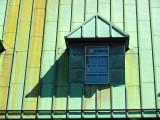 fenetre au toit de cuivre