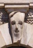 sculpture masquée
