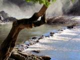 Le petit barrage de pierre