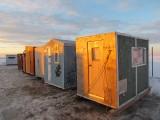 Cabanes de pêche sur glace
