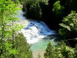 Chute aux émeraudes ( rivière du Portage)