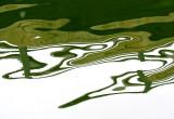 reflet du pont de Port-Daniel
