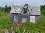 Une des maisons abandonnées de l'ile Bonaventure