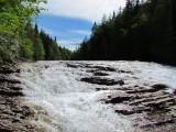 haut de chute, Rivière du Portage