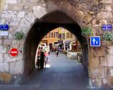 L'entrée du Faubourg des Balmettes