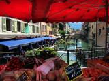 Jour de marché à Annecy