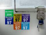 Ville d'Annecy 2006 à 2011, vignettes