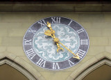horloge au Rathaus
