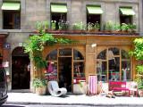 Une boutique verte du vieux Genève