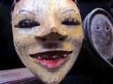 masque de femme gitane
