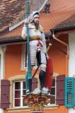 L'homme à l'épée sur la fontaine
