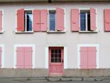La maison aux volets roses