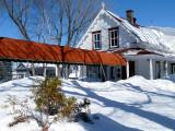 le restaurant chez Antoine en hiver